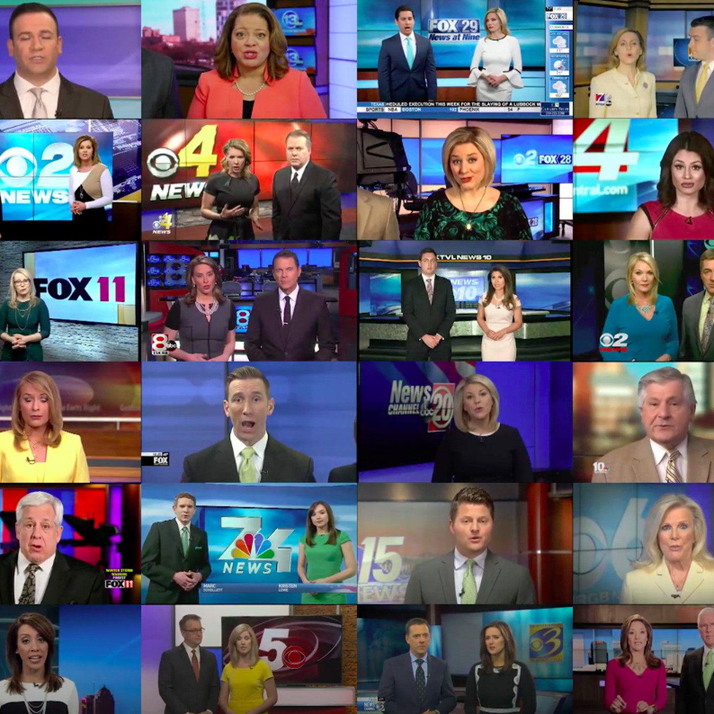 Sinclair News: we're journalists at a Sinclair news station  We're