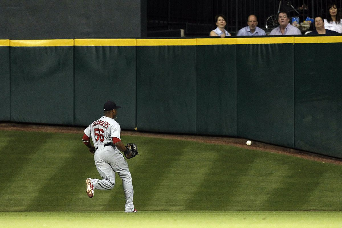 I love watching Cardinal players chase balls up Tal's Hill.