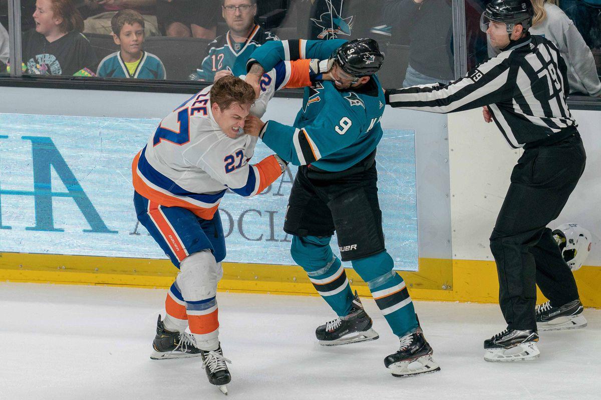 NHL: New York Islanders at San Jose Sharks