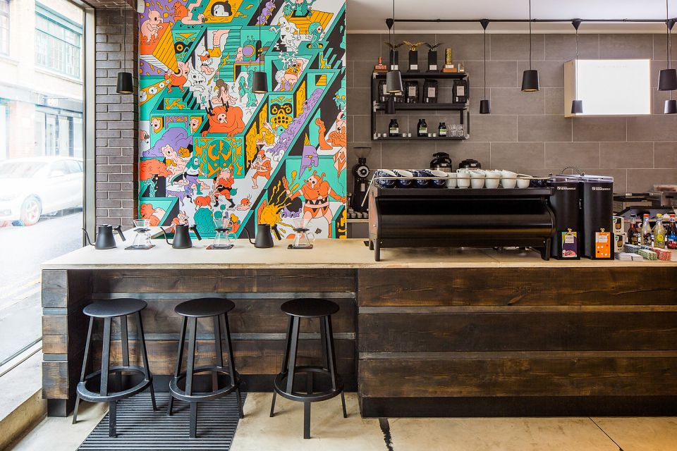 Origin Coffee in Shoreditch, one of London's best coffee shops