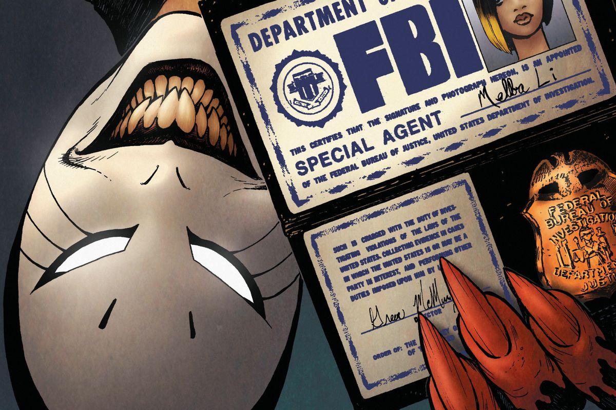 From the cover of Imaginary Fiends #2, Vertigo, DC Comics 2017.