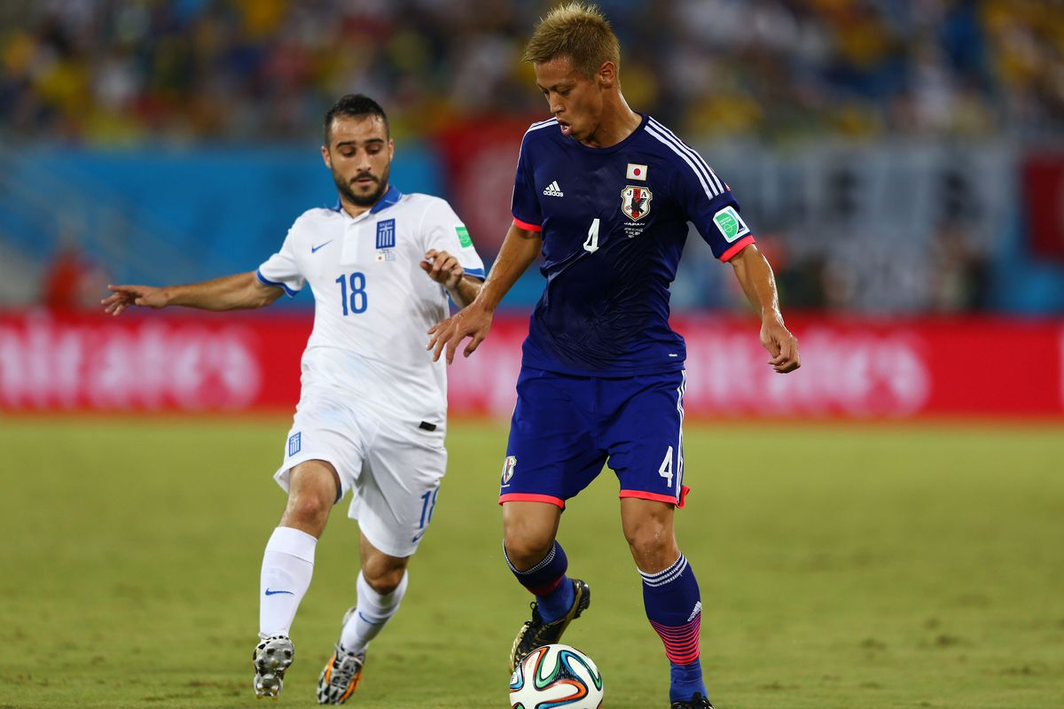 While it probably isn't Keisuke Honda, it certainly is fun to dream.