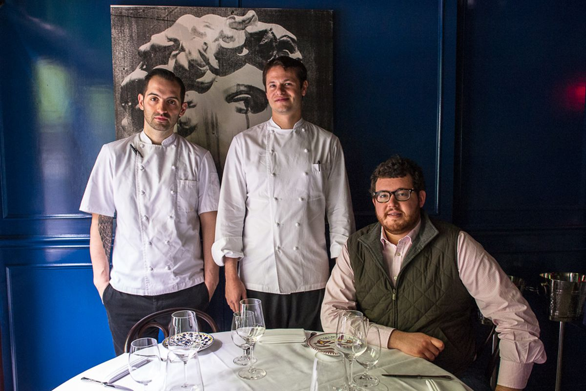Mario Carbone, Rich Torrisi, and partner Jeff Zalaznick