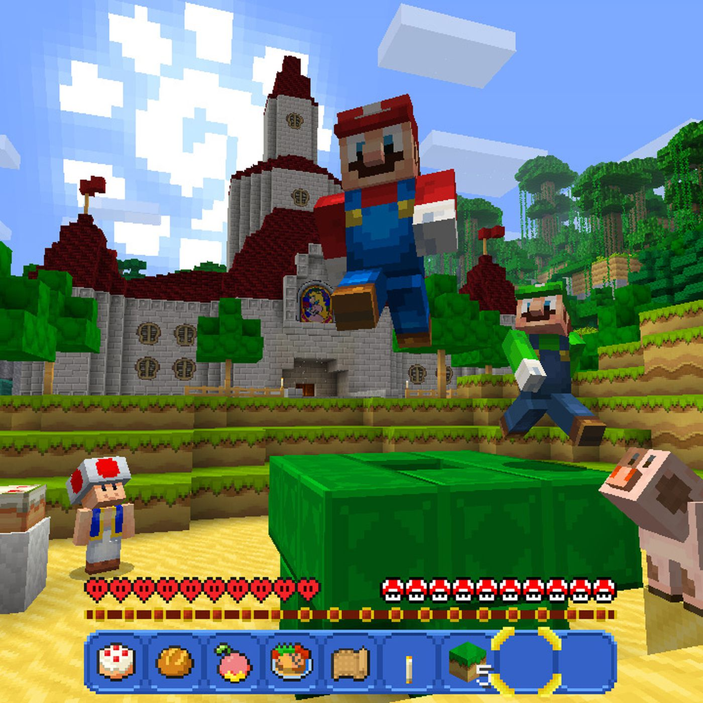 Minecraft is a perfect fit for the Nintendo Switch The Verge