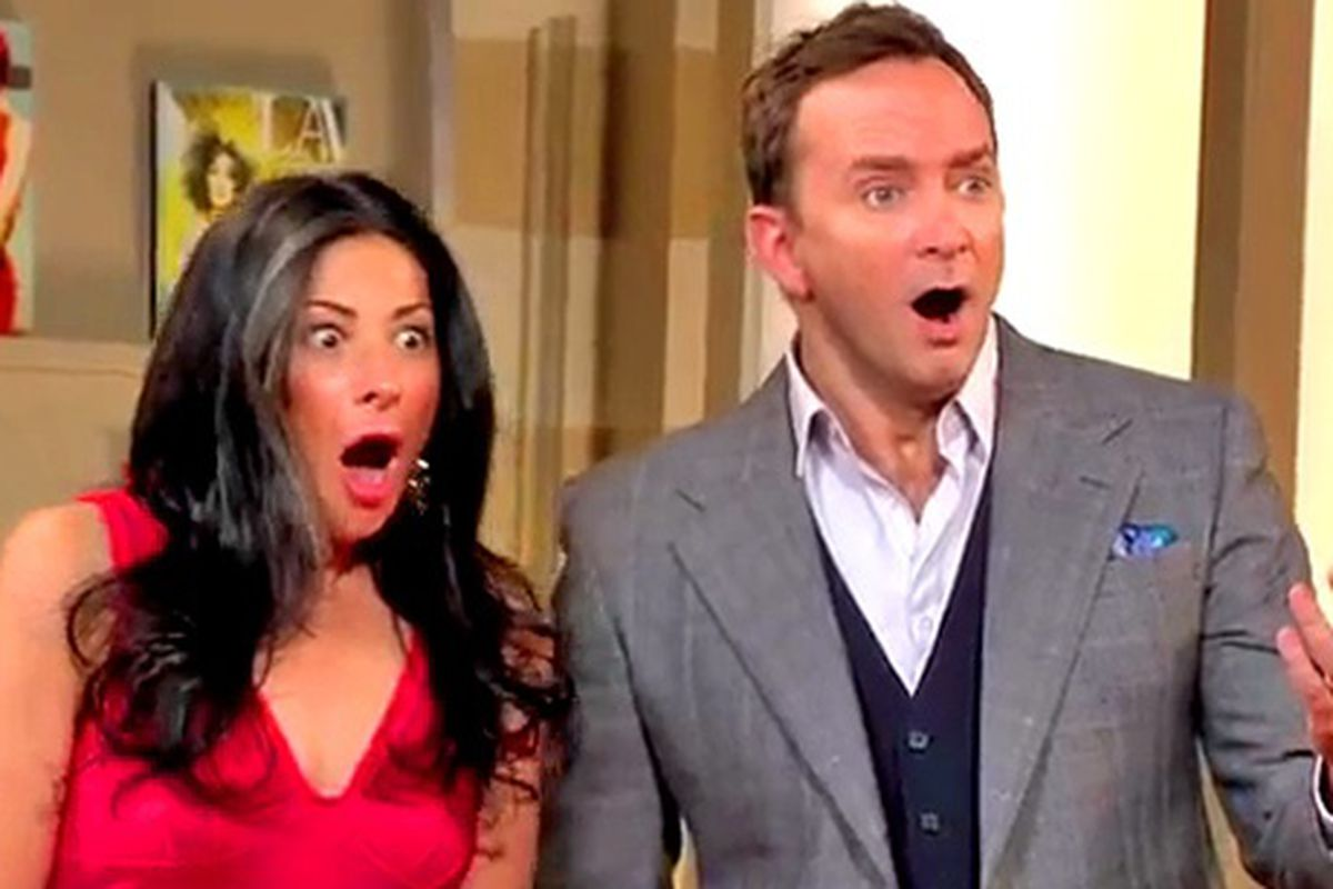 Stacy London and Clinton Kelly filmed the series finale of What Not To Wear at the Venetian and Palazzo