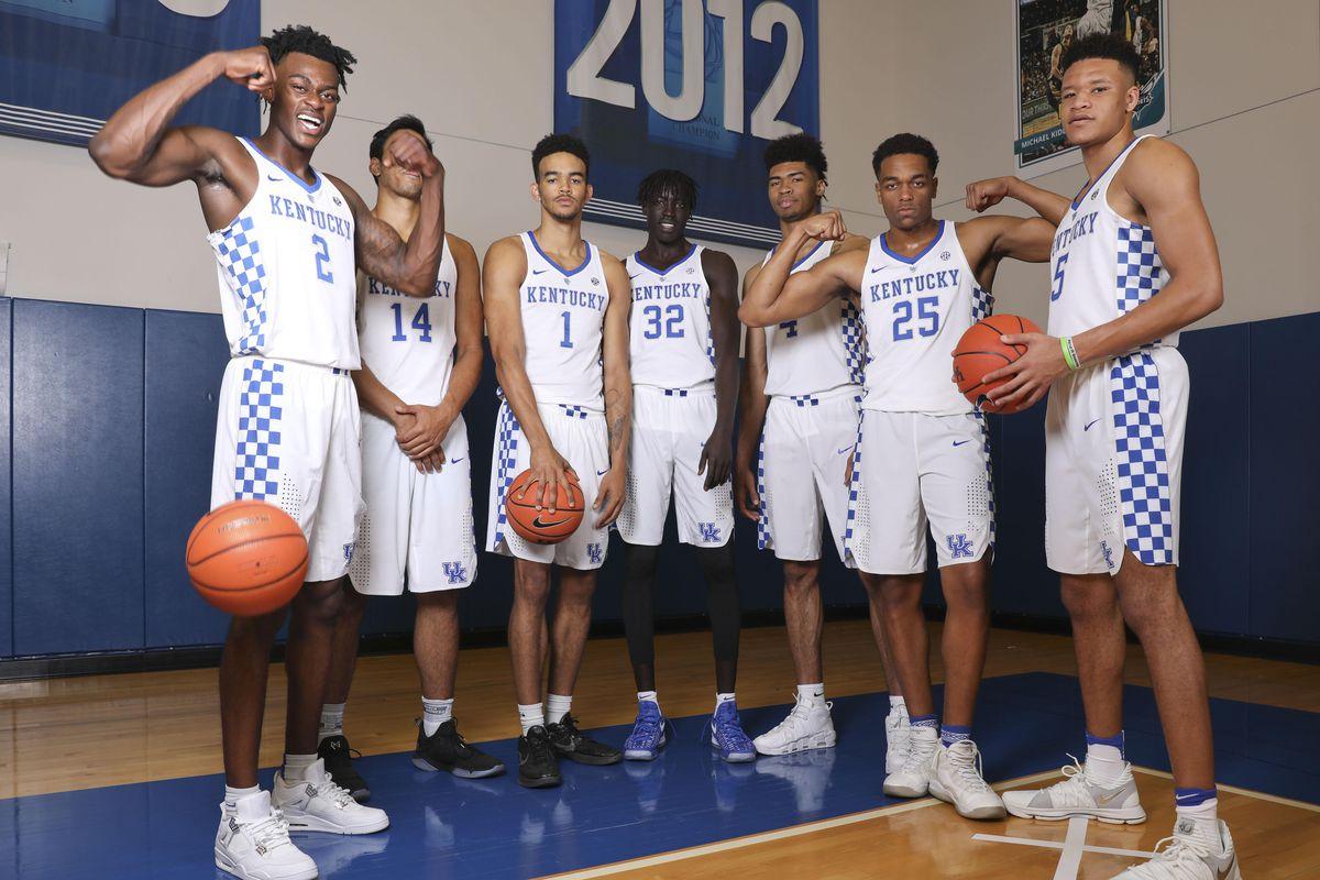 Kentucky Basketball Ranking The Top Five Wildcats Players: Kentucky Basketball: John Calipari's New Freshmen Are In