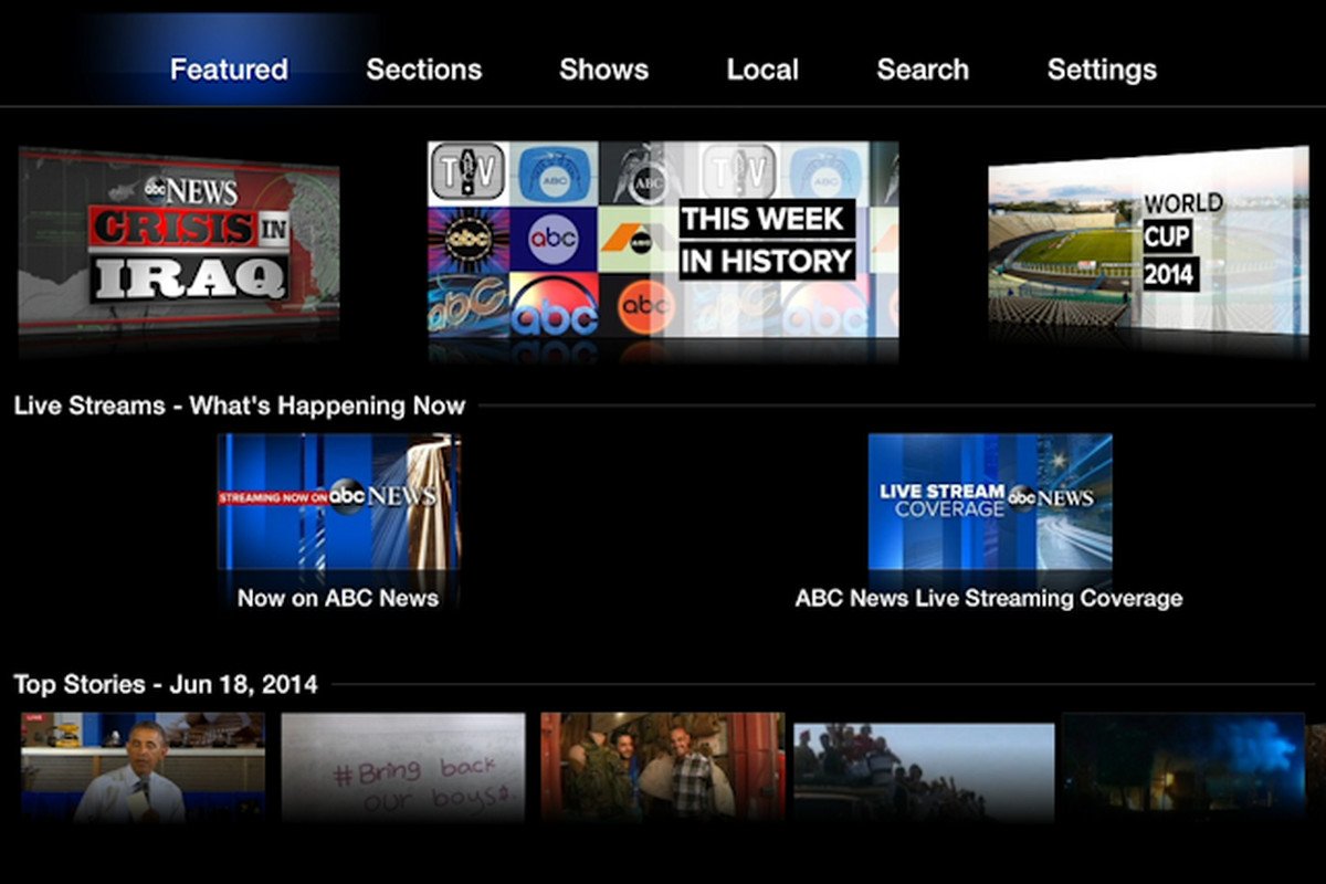 ABC News Comes to Apple TV, for Free - Recode