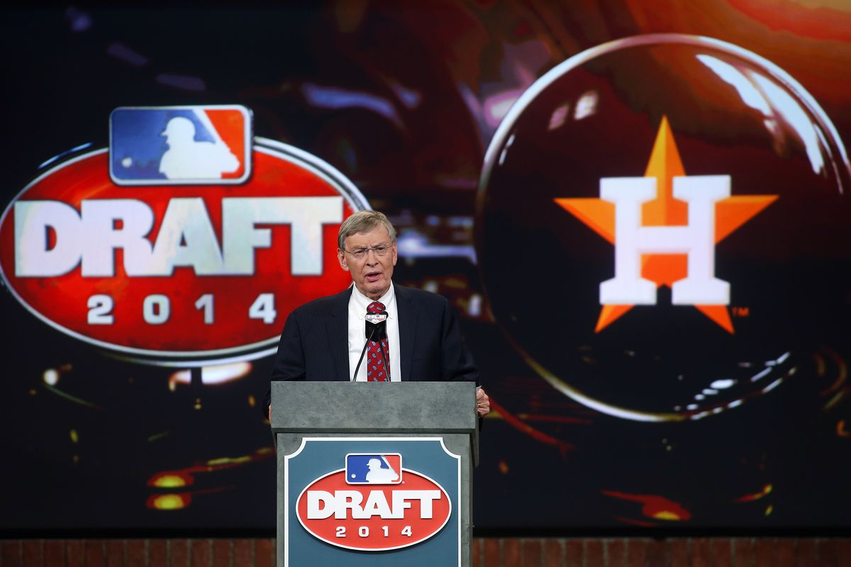 And with the 2nd and 8th picks in the 2015 Draft, the Houston Astros will select...