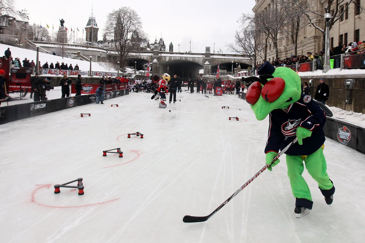 2012 NHL All-Star Game - Canadian Tire NHL Junior Skills Competition