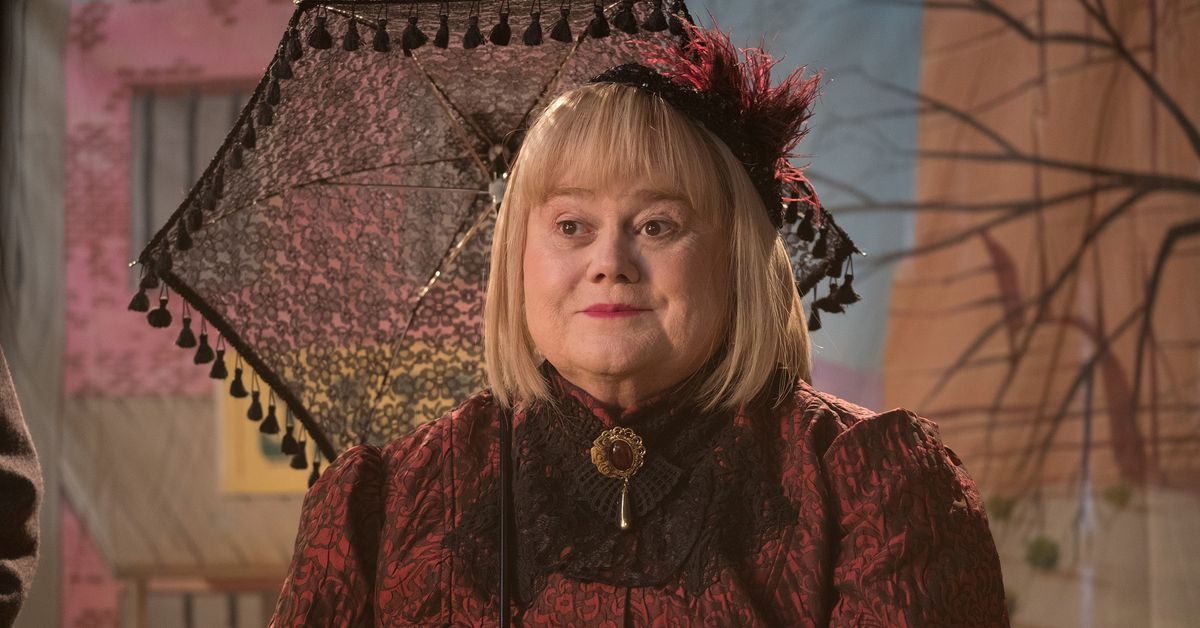 Comic Louie Anderson waited for the role of a lifetime. He found it playing his own mom.
