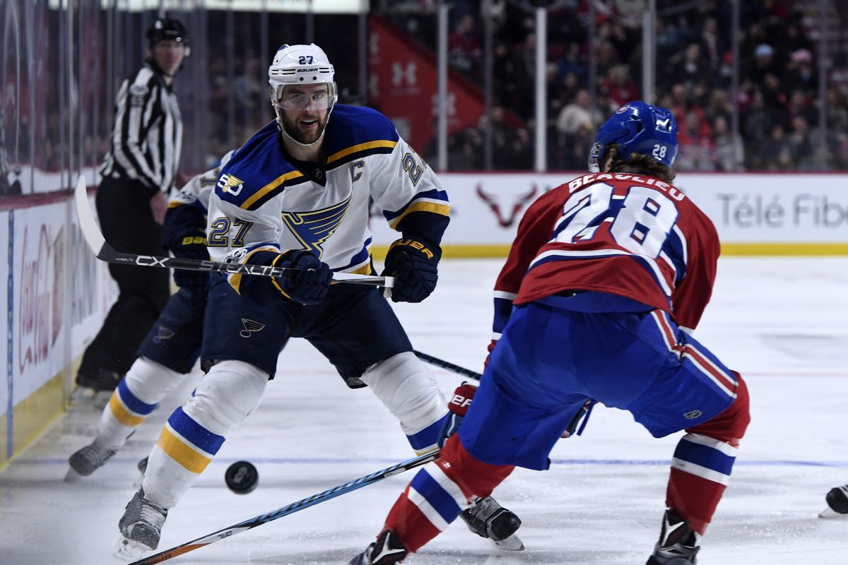 NHL: St. Louis Blues at Montreal Canadiens