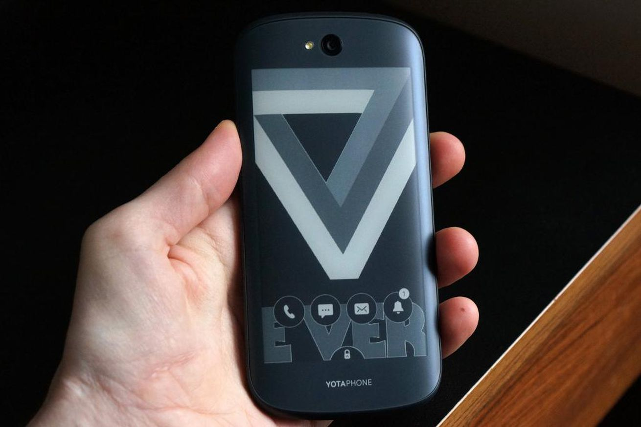 The company behind the dual-screen YotaPhone is bankrupt
