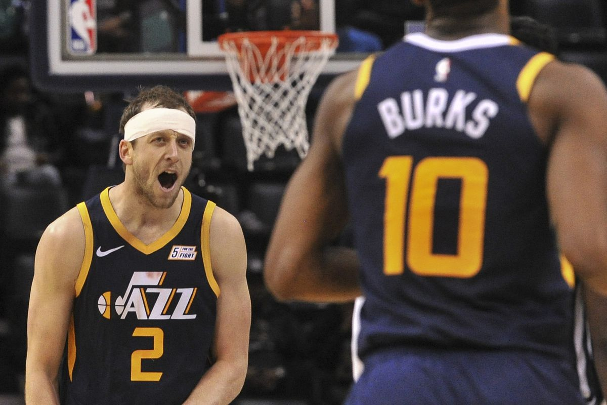 big sale e9f4f b7a96 Third time's a charm! Utah Jazz beat Memphis Grizzlies on ...
