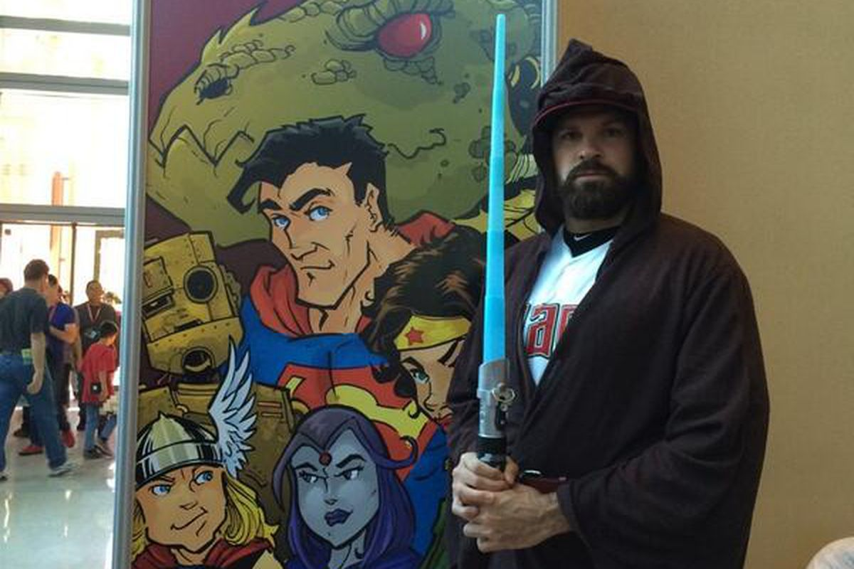 Look which Jedi is at @PhoenixComicon