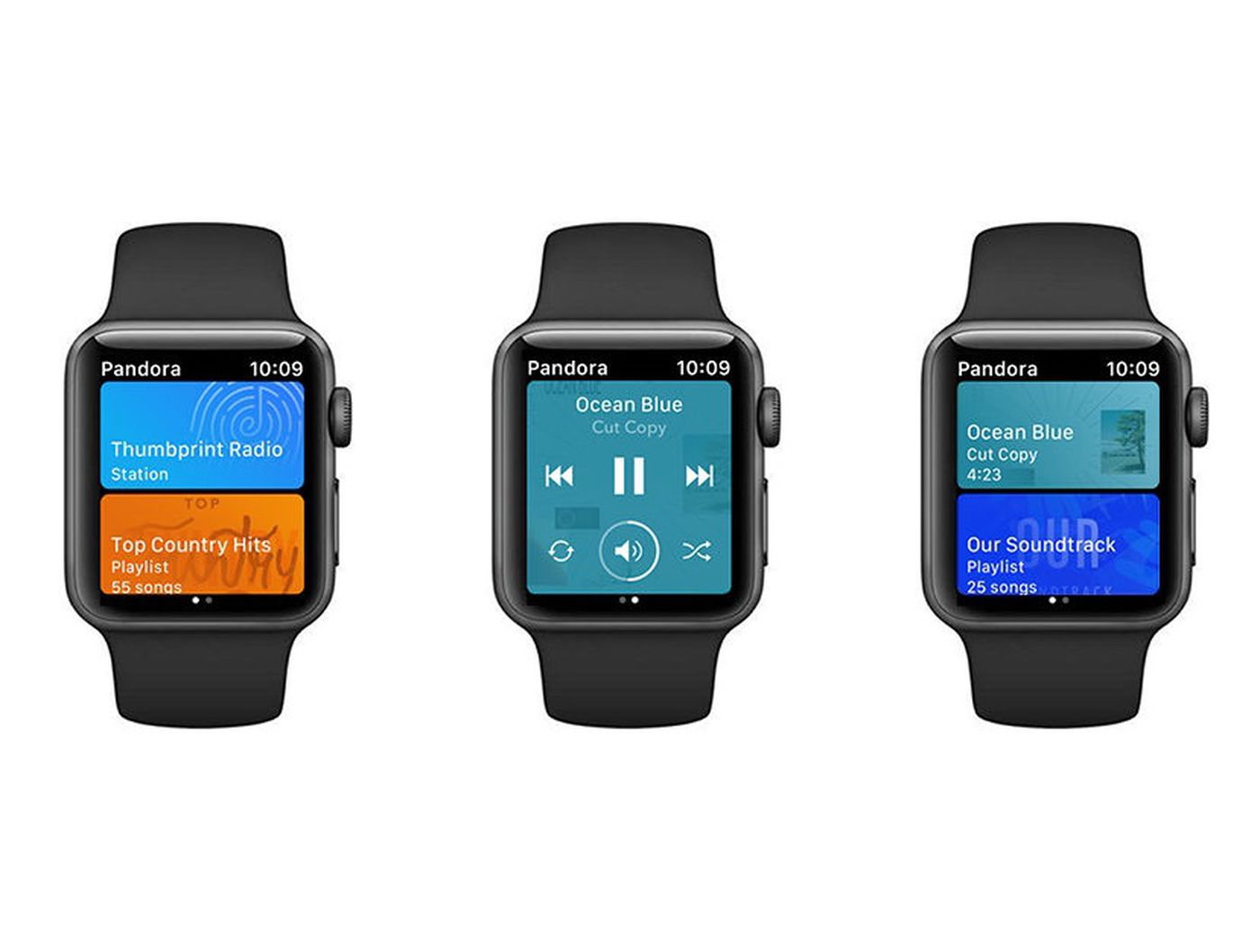Pandora beats Spotify to offline playback on the Apple Watch - The Verge