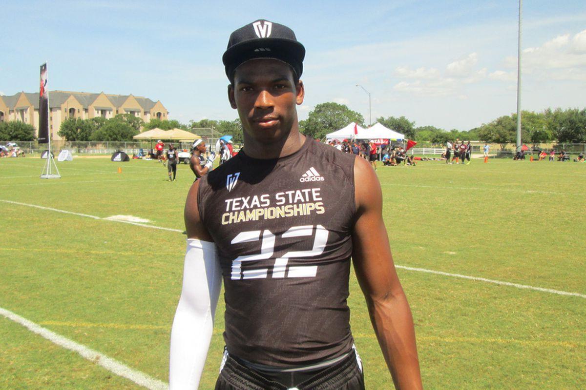 Deoundrei Davis at Texas 7-on-7
