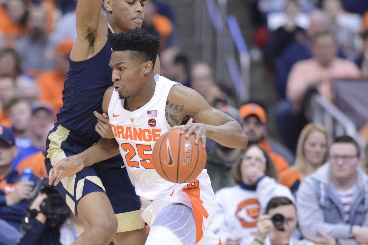 Syracuse Orange Top Pittsburgh Panthers To Follow Duke Win Troy