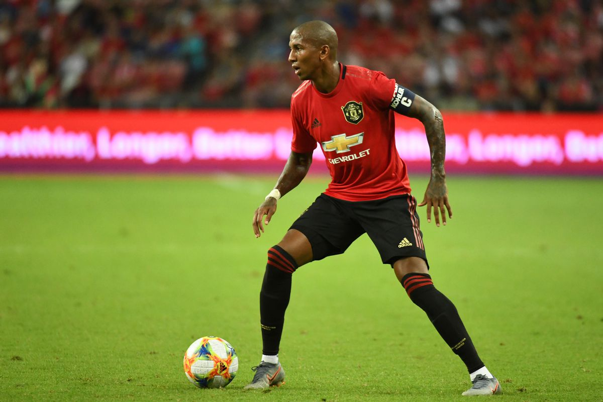 Ashley Young Named New Manchester United Club Captain The Busby Babe