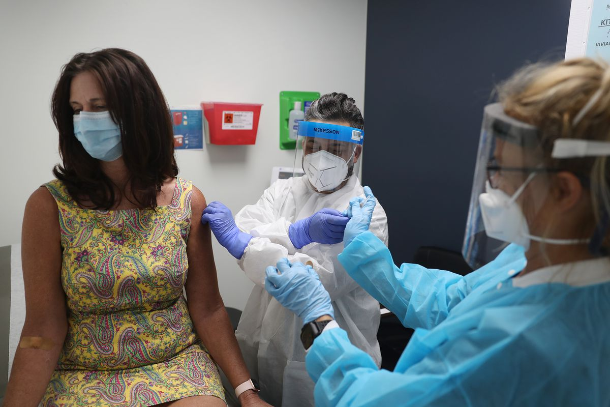 Florida Volunteers Take Part In COVID-19 Vaccine Trials