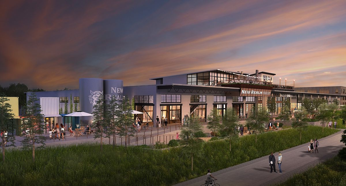 A rendering of New Realm Brewing