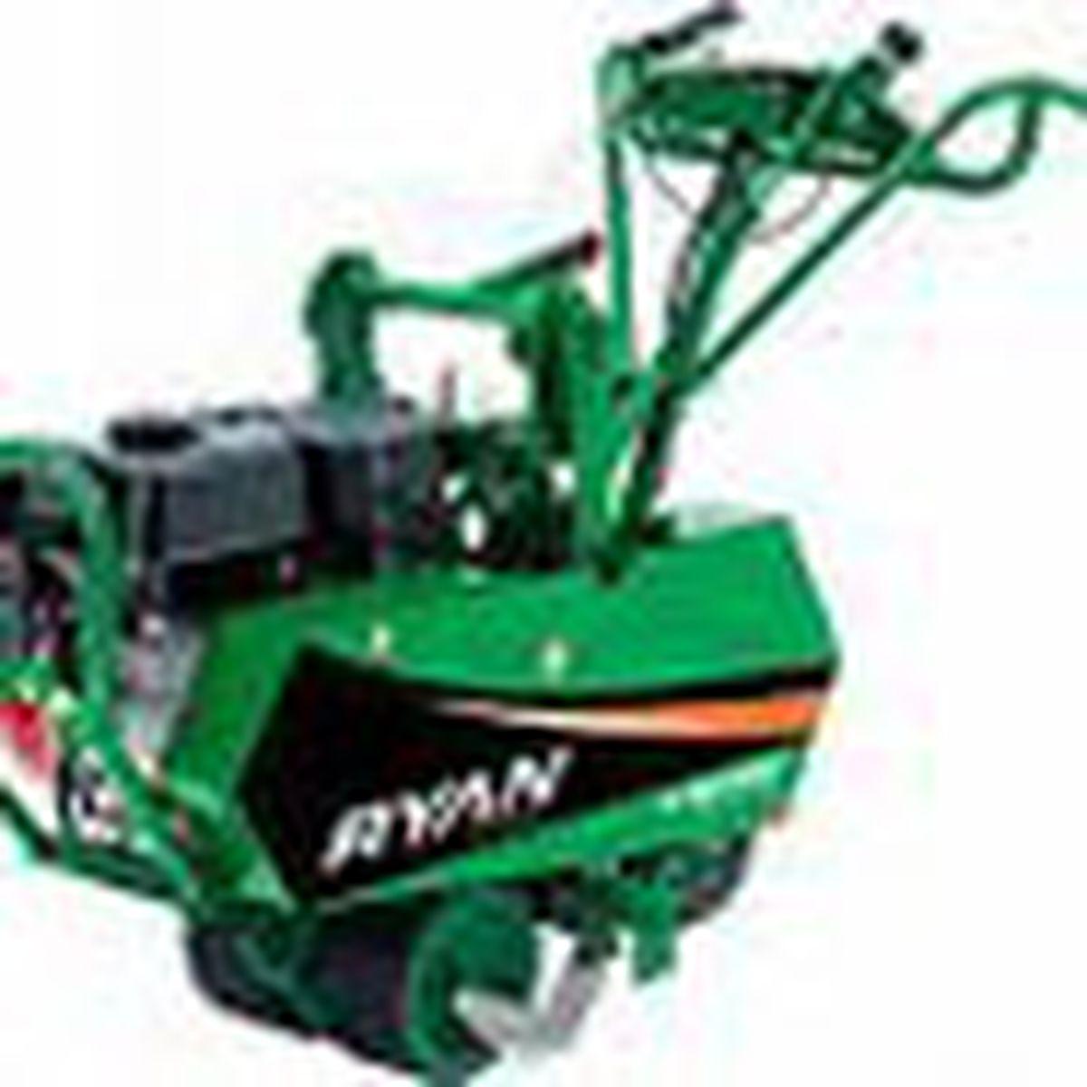Gas powered sod cutter