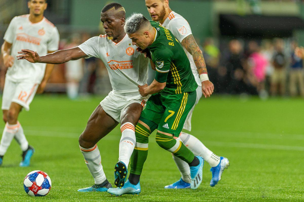 SOCCER: AUG 18 MLS - Atlanta United FC at Portland Timbers