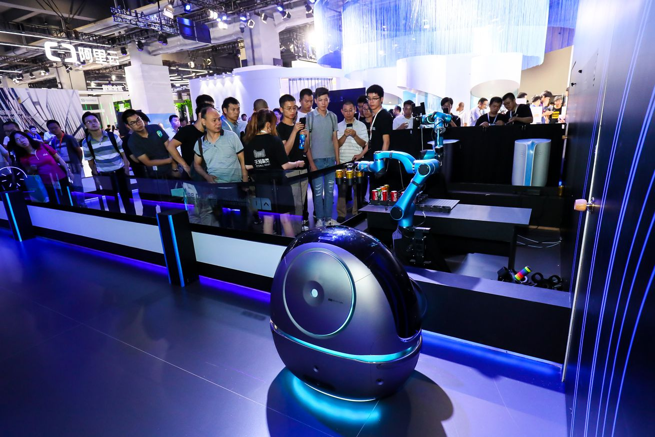 <em>Space Egg is the latest example of robotic hotel porters. </em>