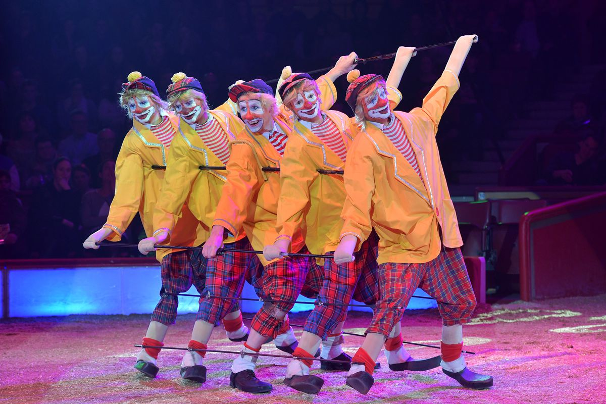 Circus Krone Celebrates Premiere Of 'Hommage'
