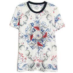 """<b>Prabal Gurung</b> Baroque Print Tee, <a href=""""http://www.kirnazabete.com/sale/baroque-print-tee-2#"""">$100</a> (from $250)"""