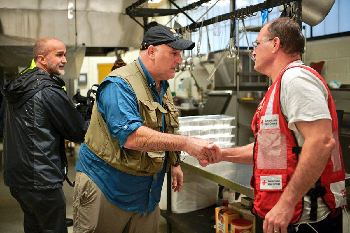 José andrés and team have fed more than 80000 hurricane florence victims