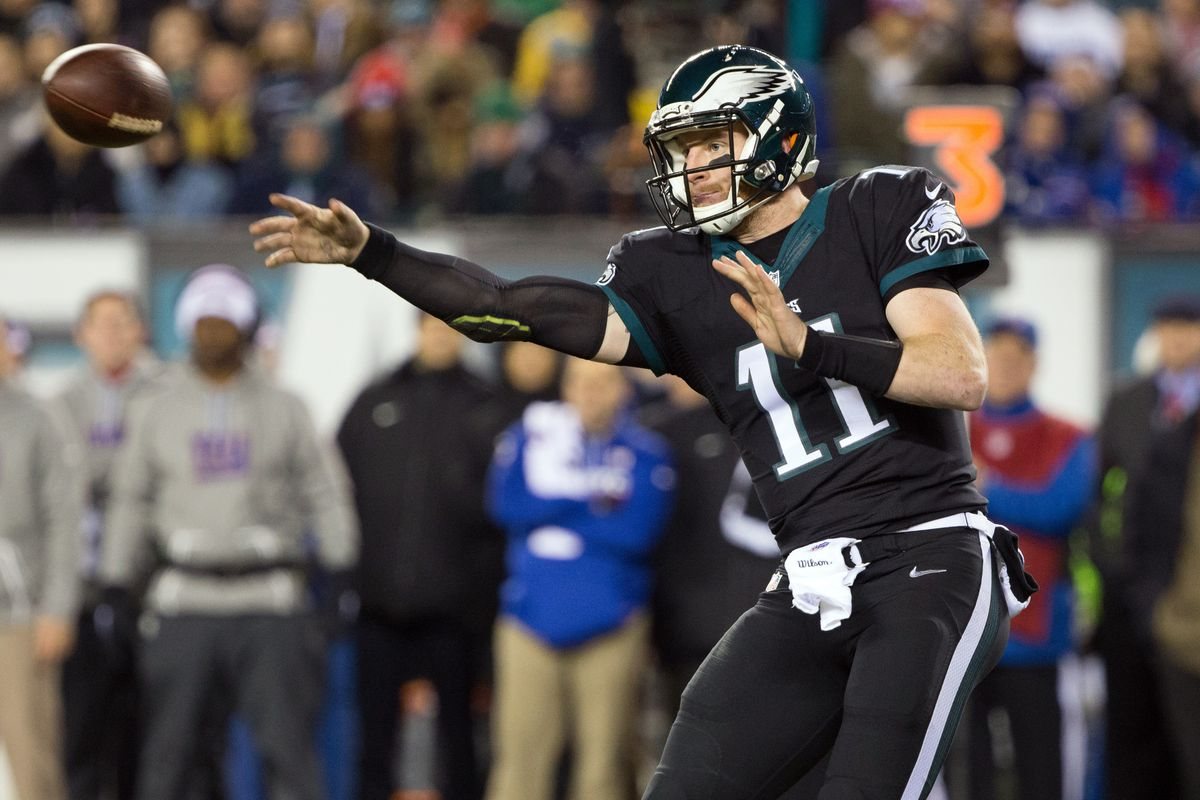big sale b5077 af419 Giants vs. Eagles 2016 final score: Carson Wentz comes alive ...