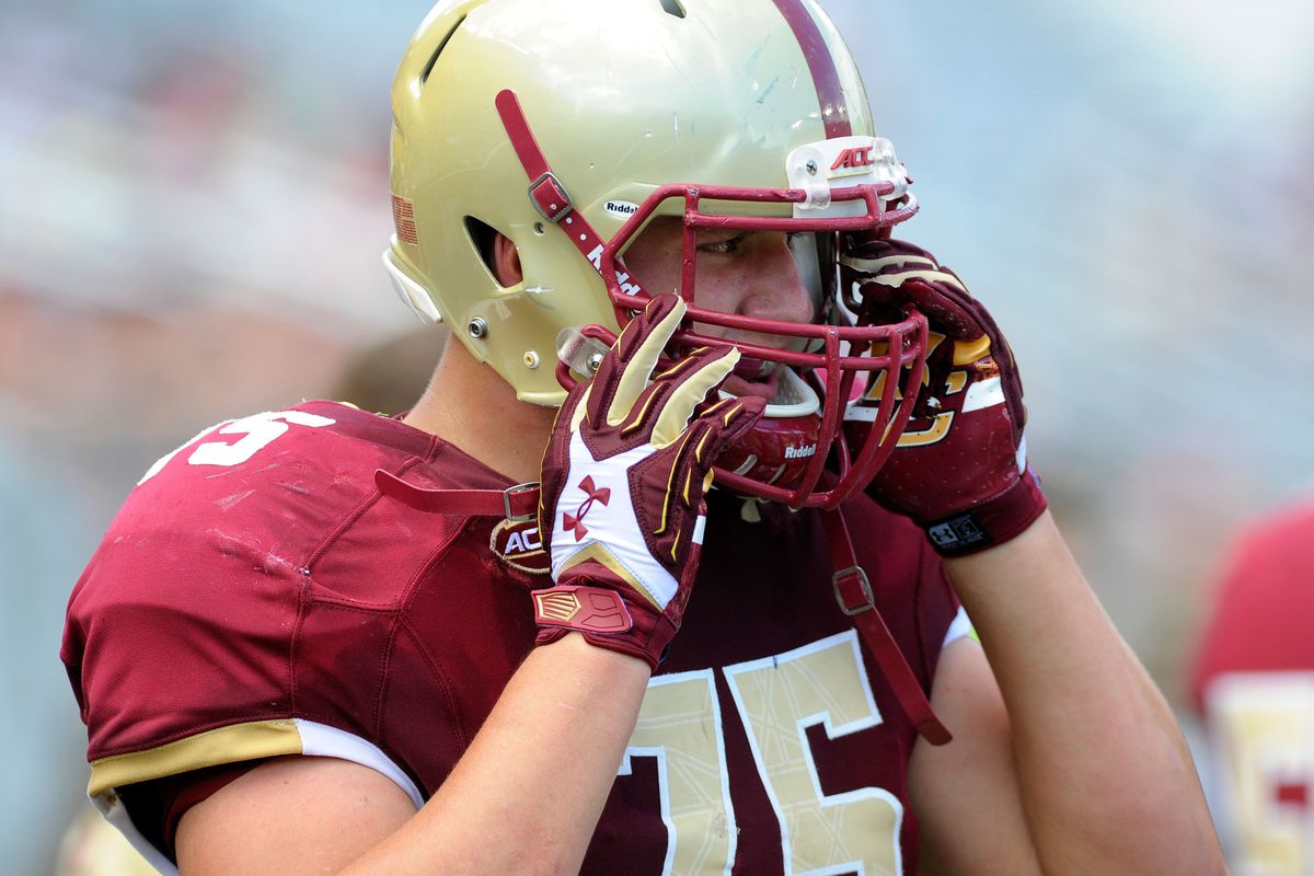 Falcons draft scouting report: OG Chris Lindstrom, Boston College ...