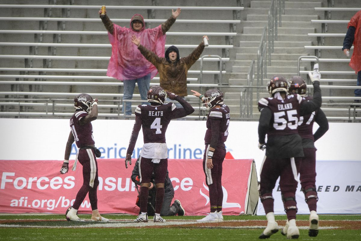 NCAA Football: Armed Forces Bowl-Tulsa vs Mississippi State