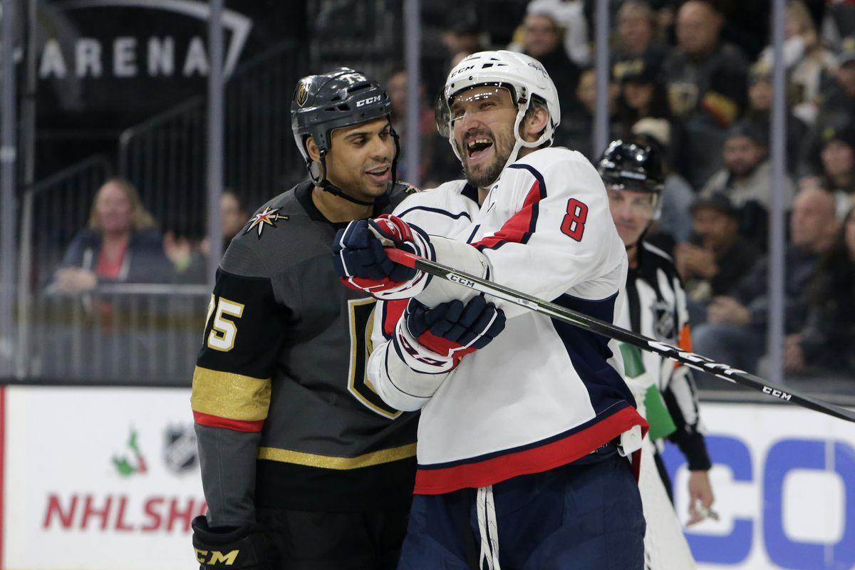 NHL: DEC 04 Capitals at Golden Knights