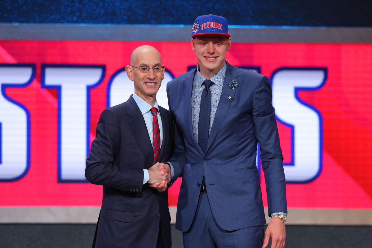 Pistons bumped their head, are looking to trade 12th overall pick