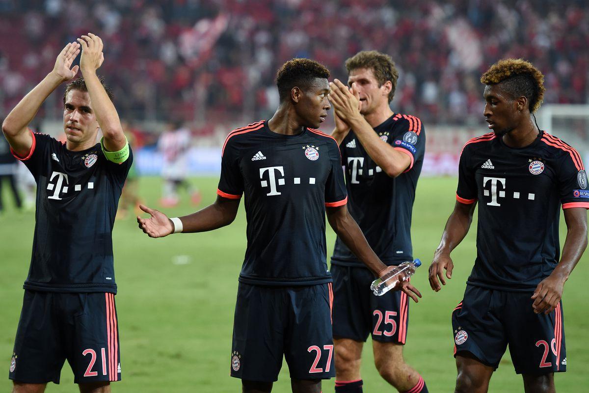 Fussball CHL 15/16 Gruppenphase: Olympiakos Piraeus - FC Bayern Muenchen