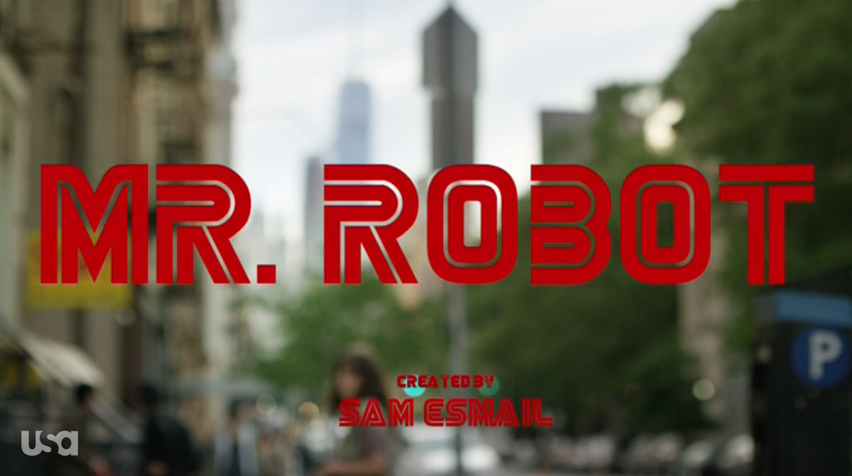 Episode 7 title screen of Mr. Robot.
