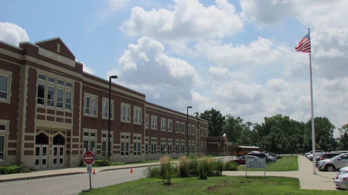 School 44 has seen some modest gains in test scores the past two years.