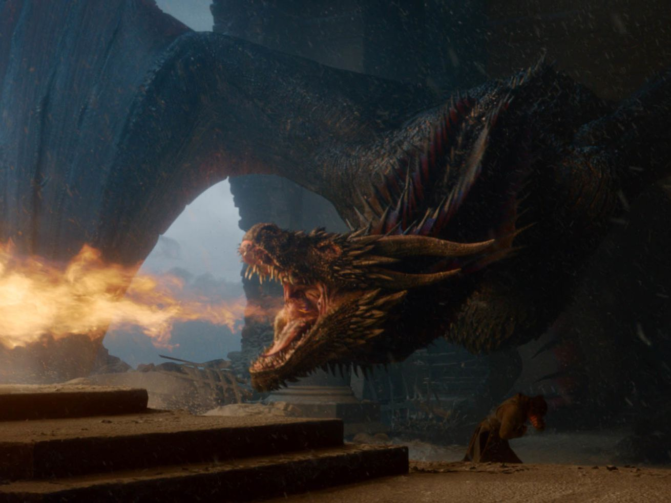 Drogon burns down the idea of planning out your series finale.