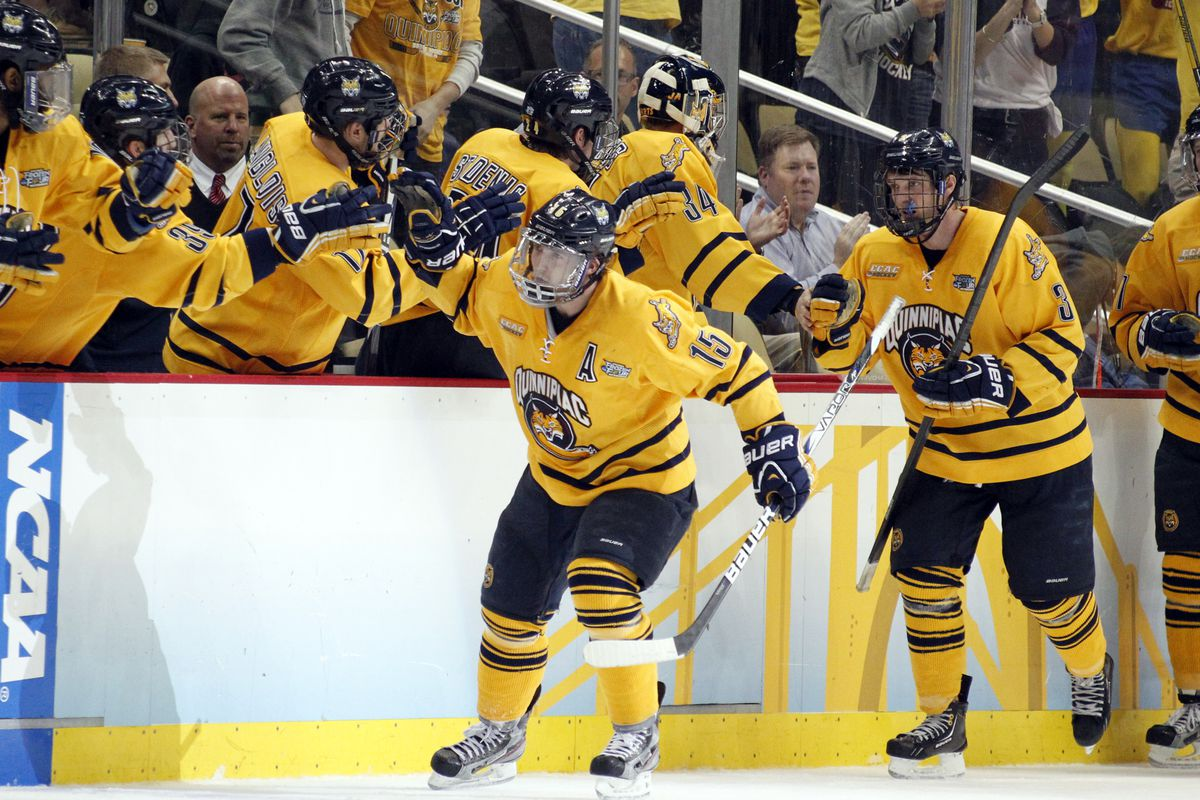 There has been plenty of reason to celebrate for the Quinnipiac University Bobcats this season.