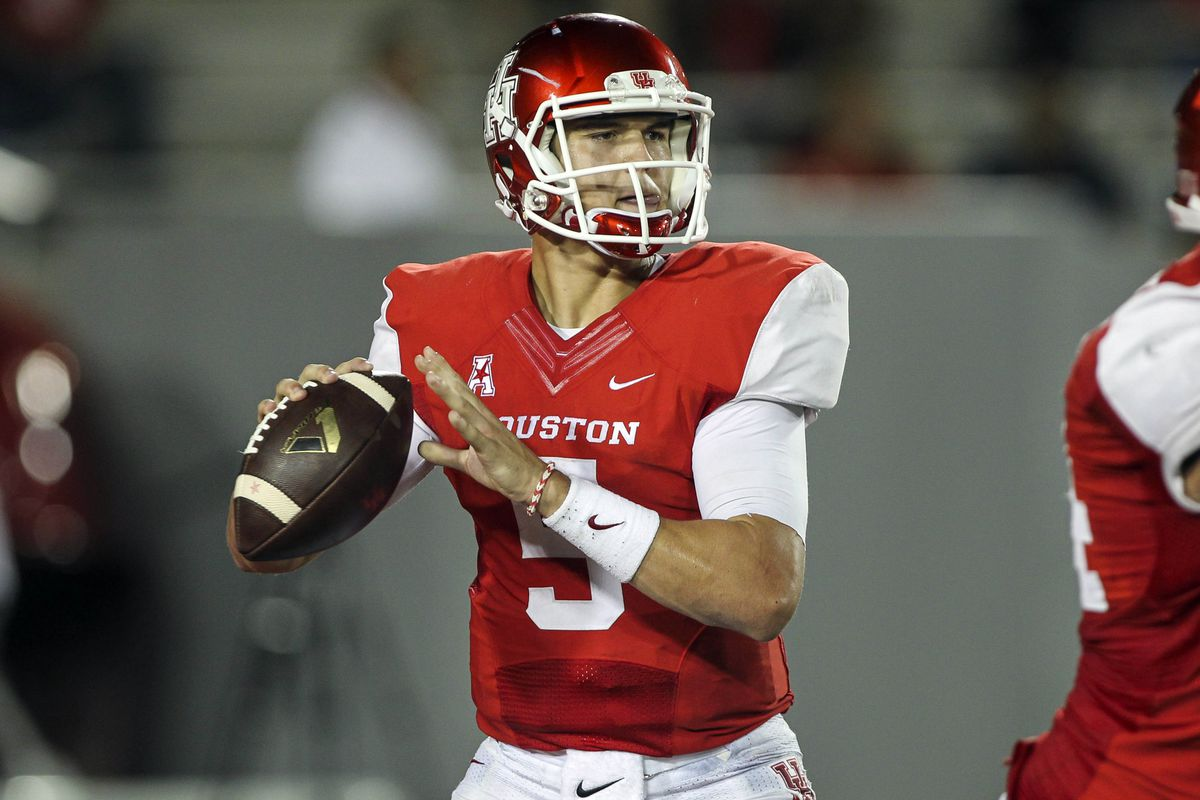 Jhn O'Korn will look to get back on track against BYU.
