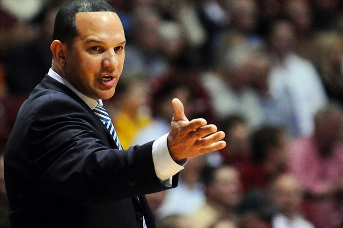 Coach Tony Barbee orchestrated the resounding defeat of LSU today in the Auburn Arena.