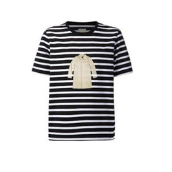Black and white striped coat tee-shirt, $135 (was $225)