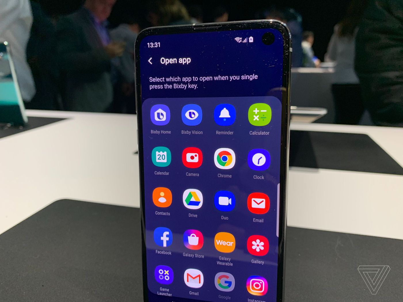 You can remap the Bixby button on Samsung's Galaxy S10 to do