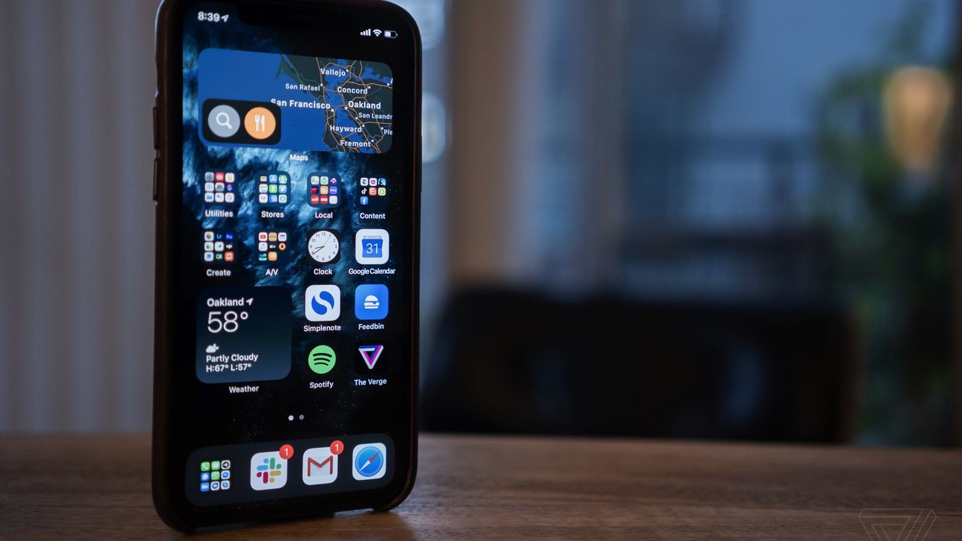 With Ios 14 Apple Is Finally Letting The Iphone Home Screen Get Complicated The Verge