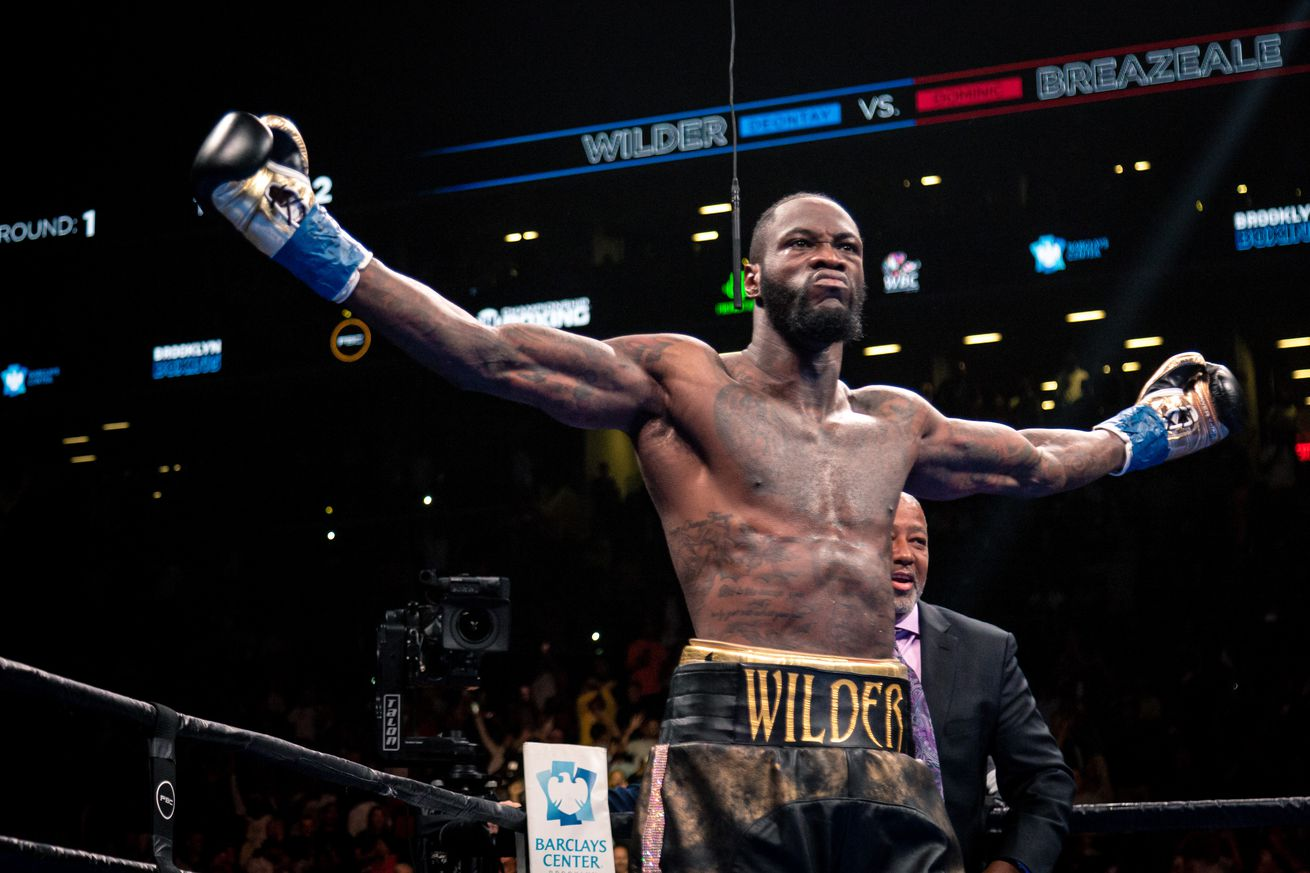 Deontay Wilder vs Dominic Breazeale   May 18  2019 05 18 2019 Fight Ryan Hafey   Premier Boxing Champions7.0 - What's next for Deontay Wilder?