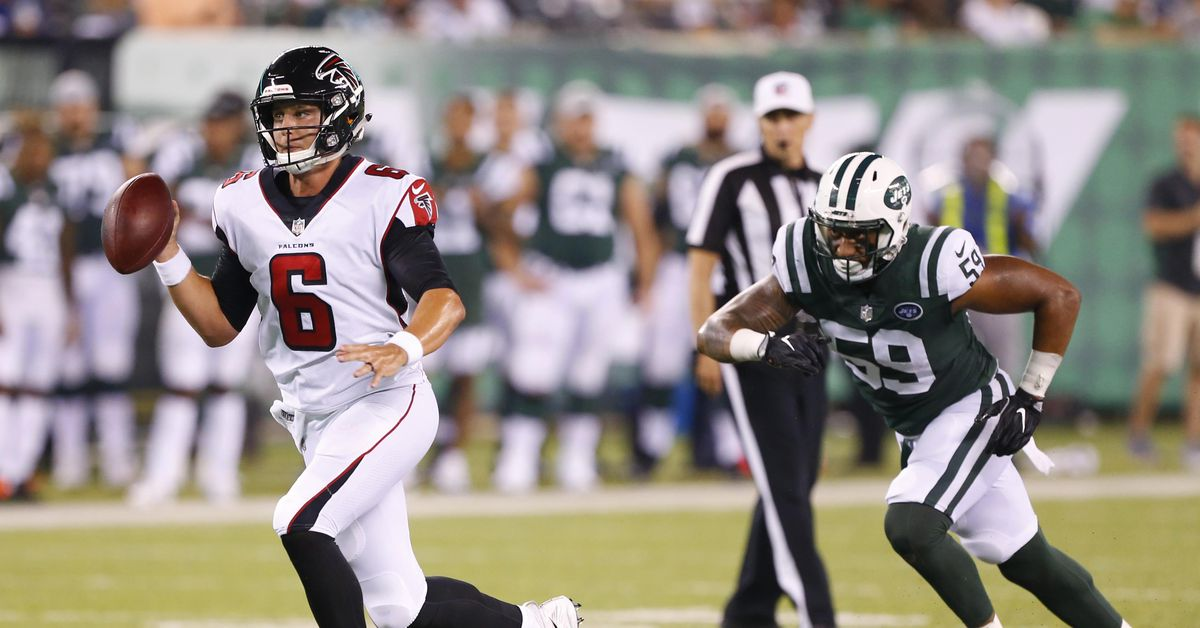 Kurt Benkert is the first exciting young quarterback the Falcons have had in years