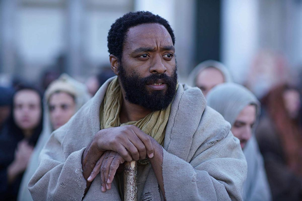 Chiwetel Ejiofor as Simon Peter in Mary Magdalene.