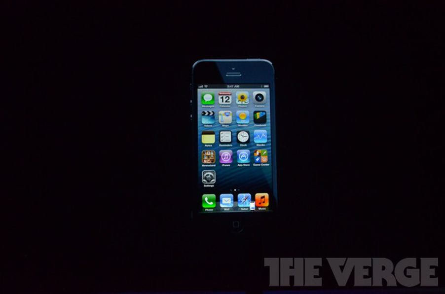 Apple announces 4-inch iPhone 5 with LTE, Lightning ...
