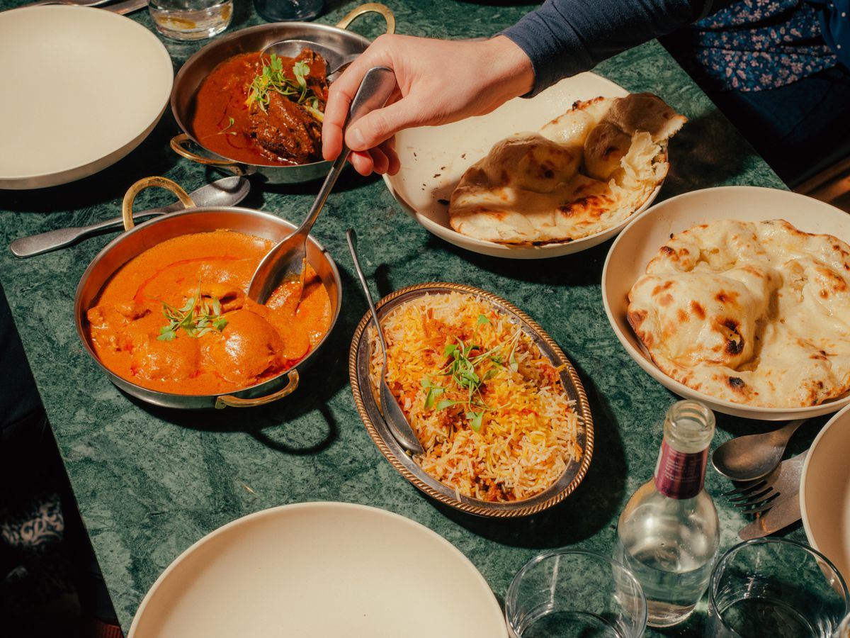 A selection of Awadhi dishes at Lucknow 49 in Mayfair —one of the best North Indian restaurants in London